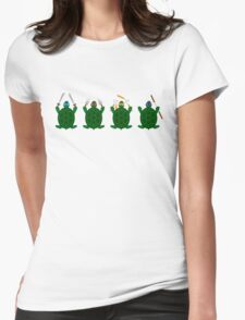 Mini Turtels Womens Fitted T-Shirt