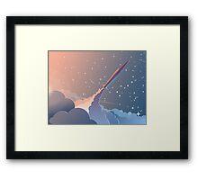 Spaceship Framed Print