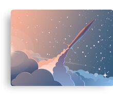 Spaceship Canvas Print