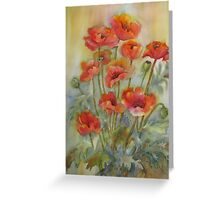Greet the Day with Gladness Greeting Card