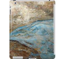 "Large Wall Art , Abstract art, Contemporary art, Original textured painting, Nature Wall Art ""ELEVATIONS"" iPad Case/Skin"