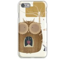 My Owl and Me iPhone Case/Skin