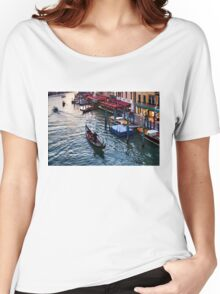 Impressions Of Venice - a Classic Grand Canal Evening Women's Relaxed Fit T-Shirt