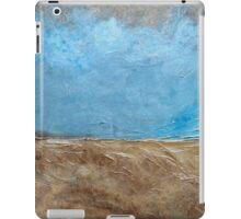 "Large Wall Art , Abstract art, Contemporary art, Original textured painting, Nature Wall Art ""Pier 51"" iPad Case/Skin"