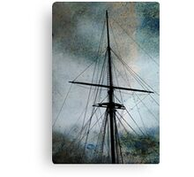 The ghost ship Canvas Print