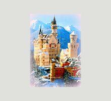 Neuschwanstein castle in winter Unisex T-Shirt