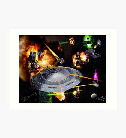 Star Trek-All Out War Art Print