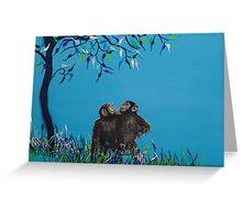 Monkeys Greeting Card