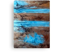 "Large Wall Art , Abstract art, Contemporary art, Original textured painting, Nature Wall Art "" Utopia "" Canvas Print"