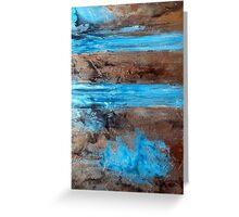 "Large Wall Art , Abstract art, Contemporary art, Original textured painting, Nature Wall Art "" Utopia "" Greeting Card"