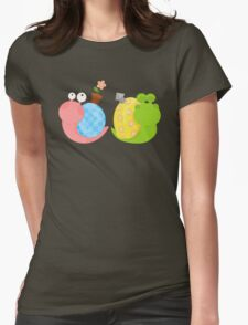 Snails Womens Fitted T-Shirt