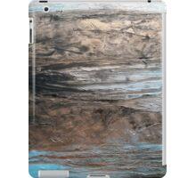 "Large Wall Art , Abstract art, Contemporary art, Original textured painting, Nature Wall Art ""Waters Edge"" iPad Case/Skin"