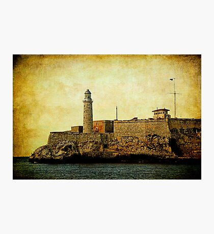 El Morro lighthouse, Havana, Cuba  Photographic Print