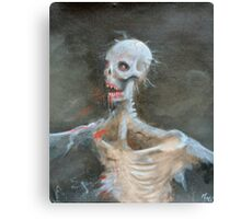 Al The Zombie Canvas Print