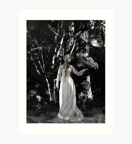 Mistress Lunar Art Print