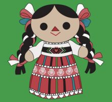 Maria 4 (Mexican Doll) One Piece - Short Sleeve