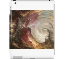 """Large Wall Art , Original textured painting, Abstract art, Contemporary art, Fluid Acrylic """" Sacred"""" by Holly Anderson iPad Case/Skin"""