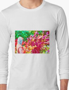 Floral Design 6 Long Sleeve T-Shirt