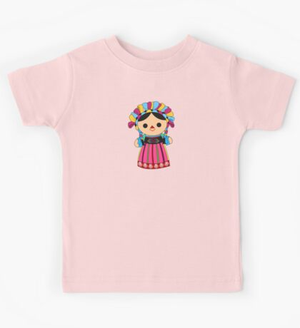 Maria 3 (Mexican Doll) Kids Tee