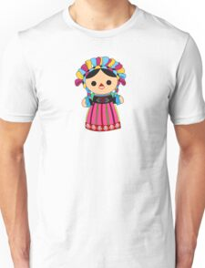 Maria 3 (Mexican Doll) Unisex T-Shirt