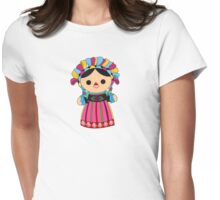 Maria 3 (Mexican Doll) Womens Fitted T-Shirt