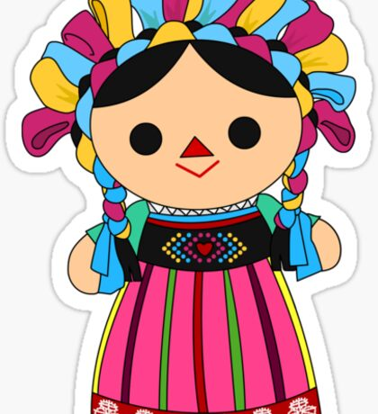 Maria 3 (Mexican Doll) Sticker
