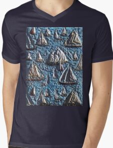 Exclusive: My Creations Artistic Sculpture Relief fact Main 11  PAINT (Photography & Design & Illustration ) (c)(h) by Olao-Olavia / Okaio Créations Mens V-Neck T-Shirt