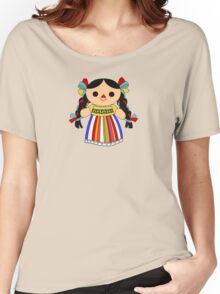 Maria 2 (Mexican Doll) Women's Relaxed Fit T-Shirt
