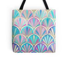 Glamorous Twenties Art Deco Pastel Pattern Tote Bag