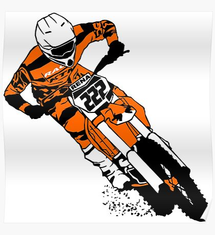 Supercross - Moto Cross Poster