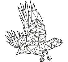 Vector Bird Photographic Print