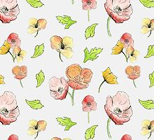 Summer Florals by cottagerts