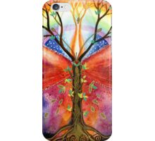 Mandala dragon-fly iPhone Case/Skin
