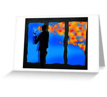 Autumn Inside Greeting Card