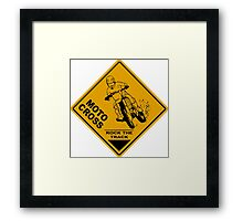 Supercross - Moto Cross Framed Print
