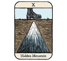 The Hidden Mountain Photographic Print