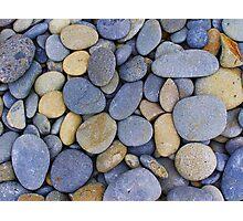 Blue Stones Photographic Print