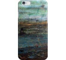 Mystery In Scenery. Dark River landscape. iPhone Case/Skin