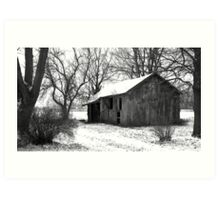 It's quiet in the winter... Art Print