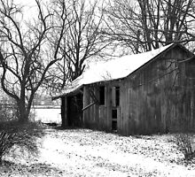 It's quiet in the winter... by Gary  Oertel