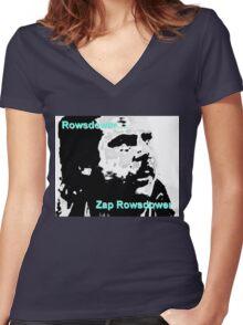 Zap Rowsdower Women's Fitted V-Neck T-Shirt