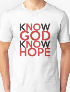 Know God - know Hope T-Shirt