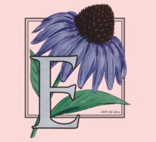 E is for Echinacea - patch Kids Clothes