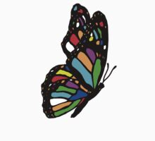 Rainbow Butterfly One Piece - Long Sleeve