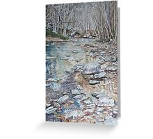 Autumn on the Big Sur River Greeting Card