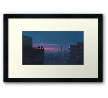 Kombinat Framed Print