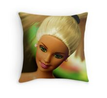 """Through You"" Throw Pillow"