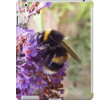 Busy Bee on a Buddleia iPad Case/Skin