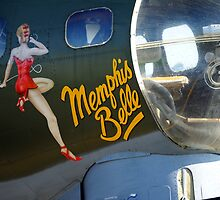 Memphis Belle Nose Art by WillOakley