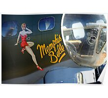 Memphis Belle Nose Art Poster